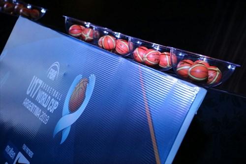 Draw cermony - FIBA U17 Basketball World Cup 2018