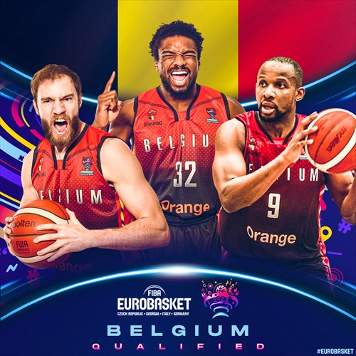 Belgium qualified for FIBA EuroBasket 2022 on February 20, 2021
