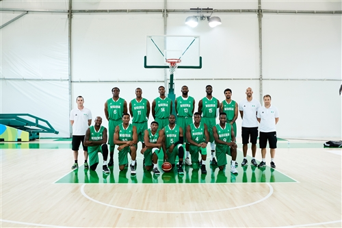 Nigeria team photo