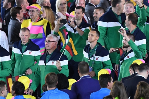 Team Lithuania - Opening Ceremony