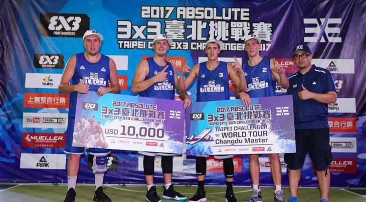 Riga win Absolute Taipei City 3x3 Challenger 2017