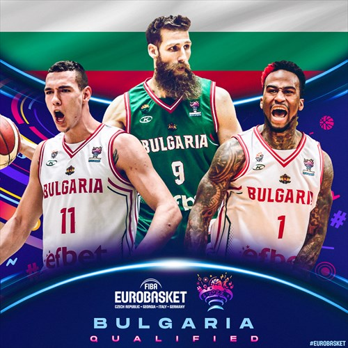 Bulgaria qualified for FIBA EuroBasket 2022 on February 20, 2021
