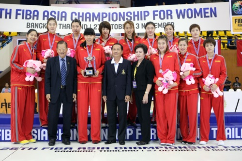 Bronze Medalists - China