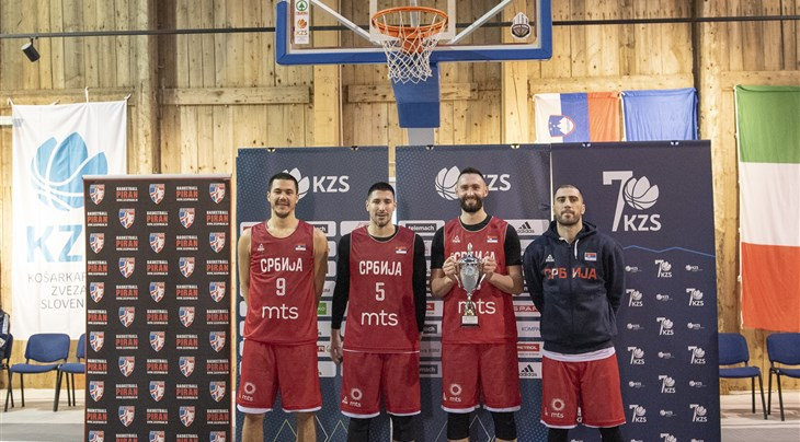 Serbia continue winning streak at friendly international tournament