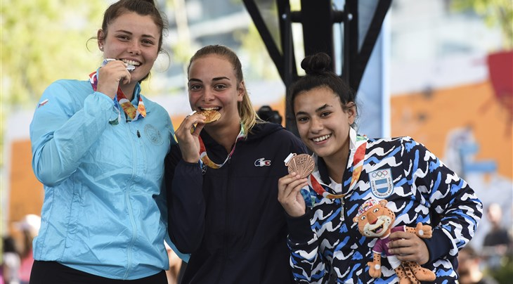 Peyregne wins gold for France at Youth Olympic Games Shoot-Out Contest