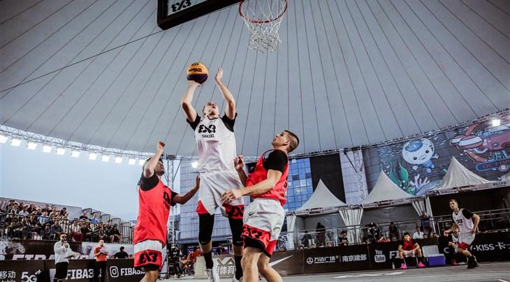 Pukelis tops all scorers at FIBA 3x3 World Tour Nanjing Masters