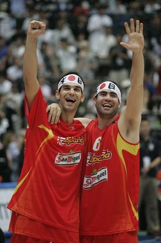 8. José-Manuel CALDERON (Spain); 8 José-Manuel CALDERON (Spain); 6 Carlos CABEZAS (Spain)
