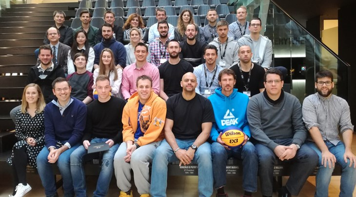 First-ever FIBA 3x3 World Tour players and managers workshop held in House of Basketball
