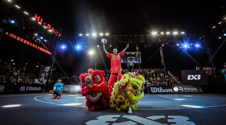 FIBA 3x3 World Tour Bloomage Beijing Final 2017 to be staged on October 28-29