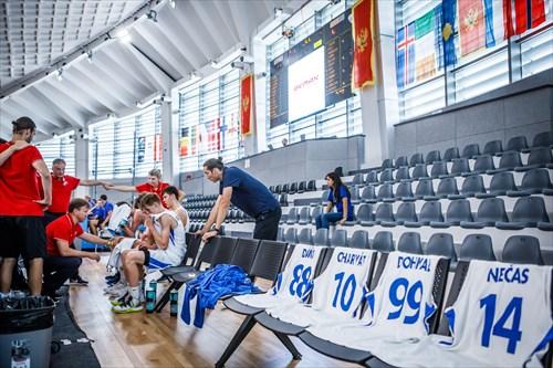 14 Jakub Necas (CZE), 99 Pavel Dohnal (CZE), 10 Lukas Charvat (CZE), 88 Matej Dana (CZE)