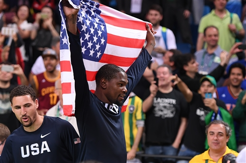 5 Kevin Durant (USA)