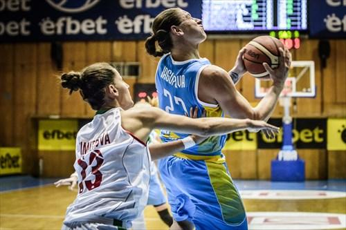 13 Radostina Dimitrova (BUL), 23 Alina Iagupova (UKR)