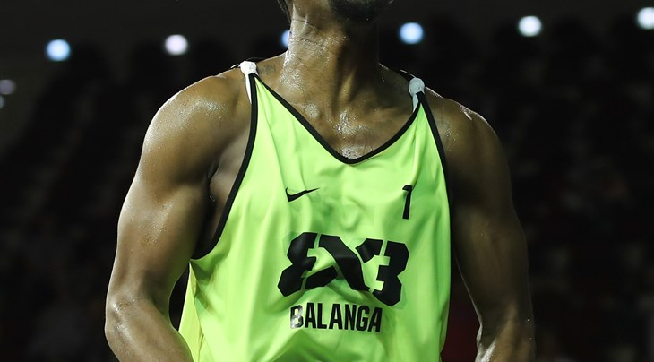 Travis Franklin tops all scorers after brilliant Day 1 of the FIBA 3x3 World Tour Doha Masters