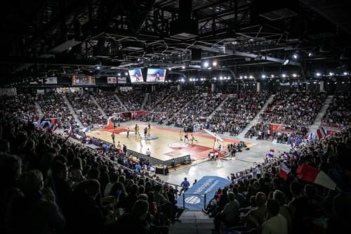 Kindarena Stadium in Rouen