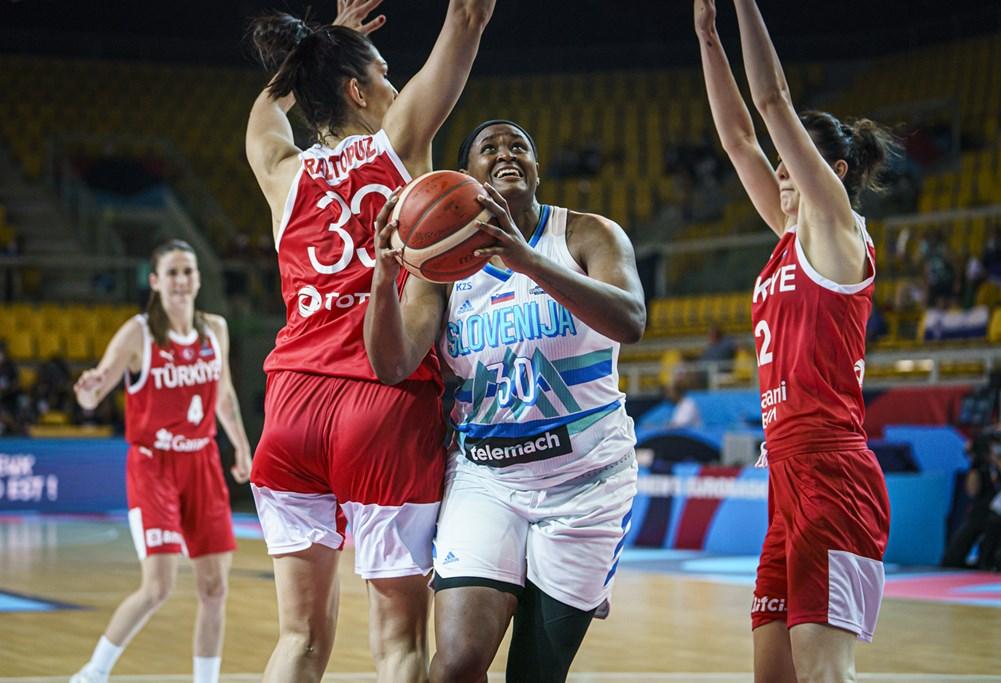 Eslovenia comienza con victoria el Eurobasket de España y Francia