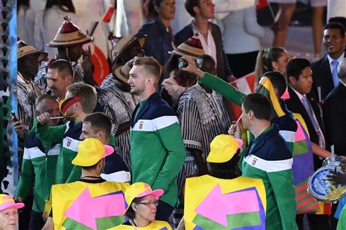 Domantas Sabonis - Opening Ceremony