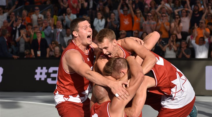 Europe Cup reigning champs Latvia to compete in France Qualifier