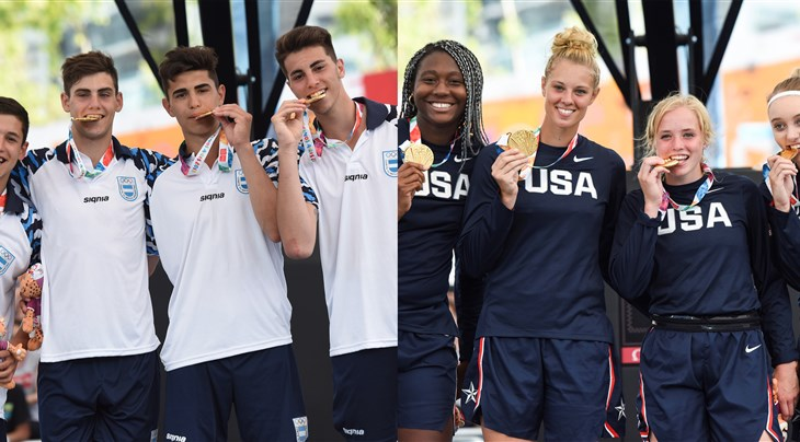 Argentina and USA win gold at Youth Olympic Games 2018