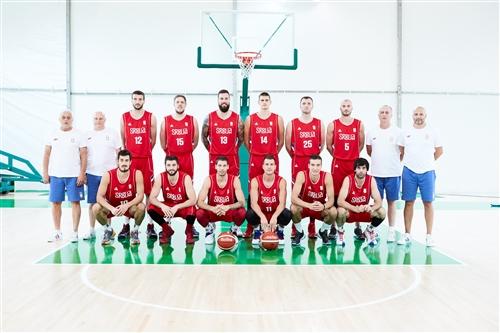 Serbia team photo