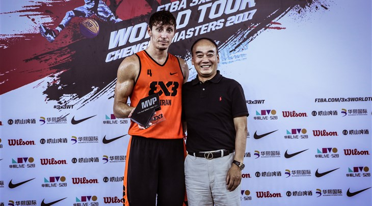 Top Scorer Finzgar named MVP at FIBA 3x3 World Tour Chengdu Masters 2017