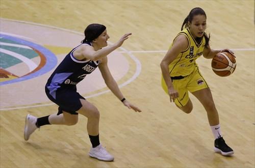 11 Melisa Gretter (ARG), 4 Manuela Rios (COL)