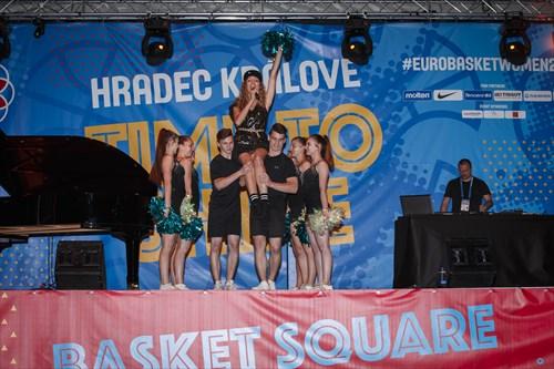 Olga Lounova performs the official FIBA EuroBasket Women 2017 song