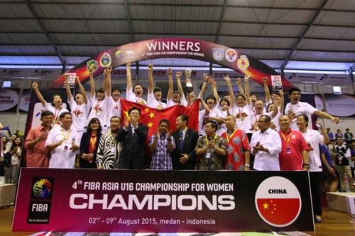 China team Celebratoin
