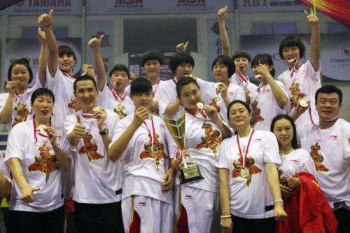 China Team Celebration