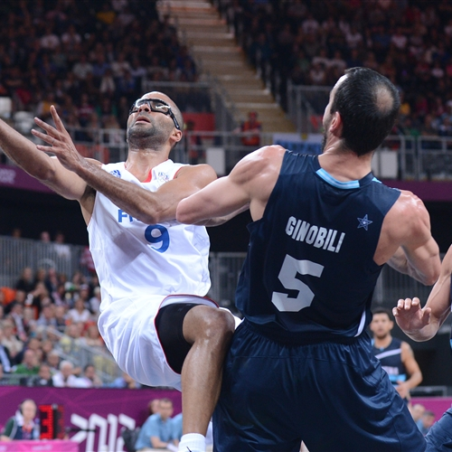 PARKER matched up Ginobili in London 2012 Olympic Games