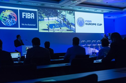 The FIBA Europe Cup Draw