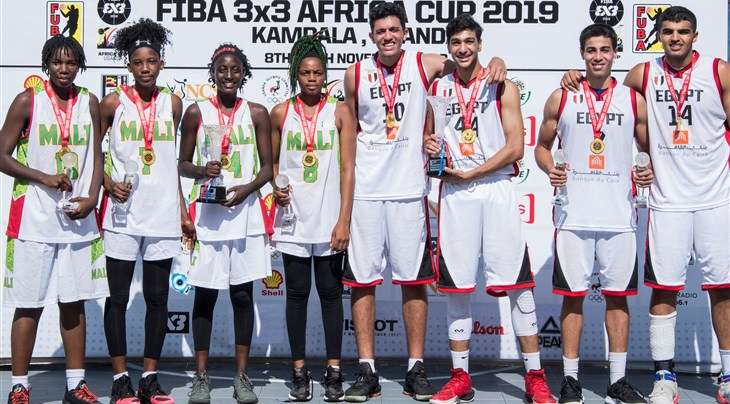 Egypt and Mali make history, win inaugural edition of FIBA 3x3 U18 Africa Cup