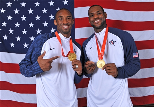 10. Kobe BRYANT (USA) & 6. Lebron JAMES (USA)