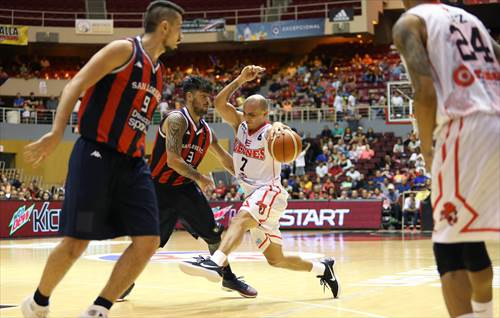 3 Nicolás Aguirre (ARG), 7 Carlos Arroyo (PUR),