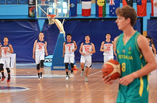10 Mark Joseph Temerowski (GUM), 6 Kobe Tyler Sotelo (GUM), 8 Tom Fullarton (AUS)