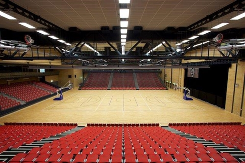 ASB Arena, Tauranga.
