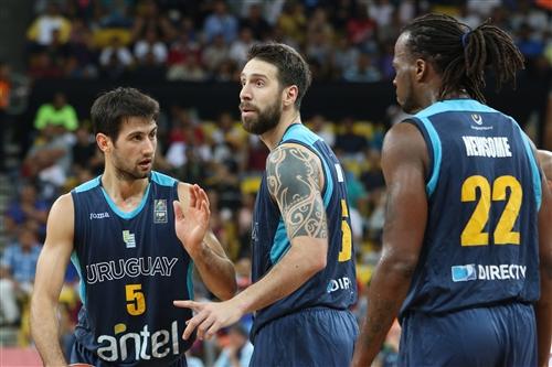 21 Luciano Parodi Gonzalez (URU), 6 Mauricio Aguiar (URU), 5 Bruno Fitipaldo (URU)