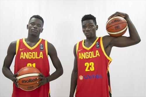23 Geovanne Kibinga (Angola)