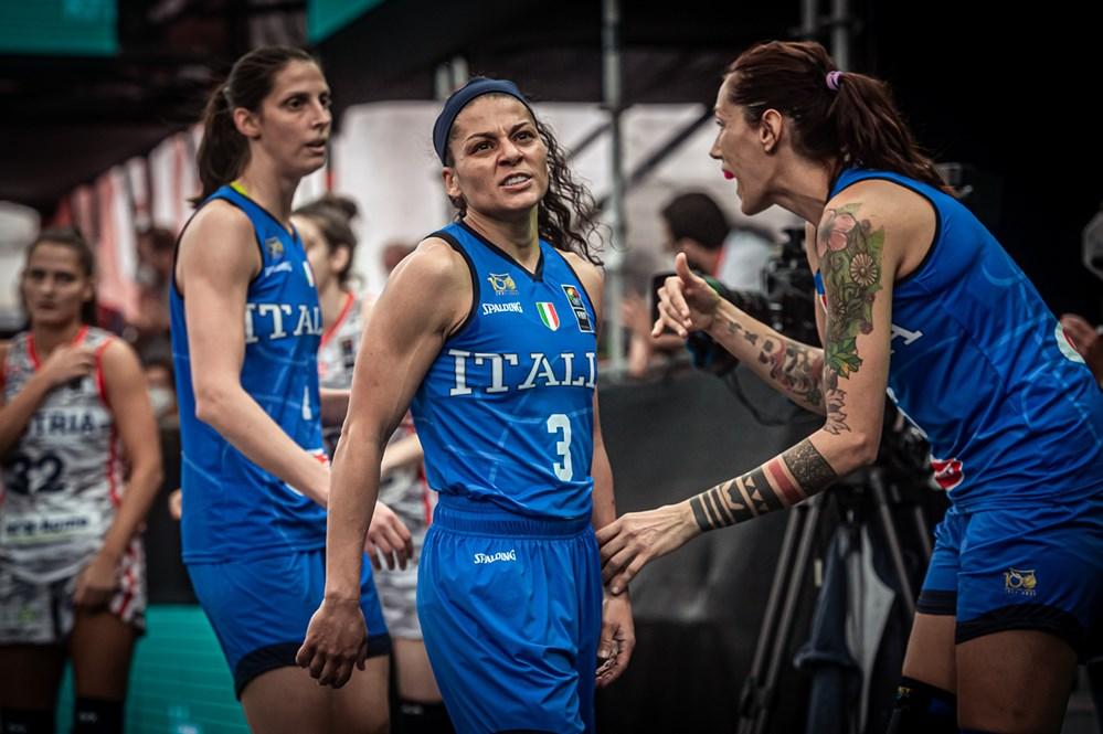 Preolimpico 3×3 Femminile, a Debrecen le Azzurre nel girone con Cina Taipei e Iran