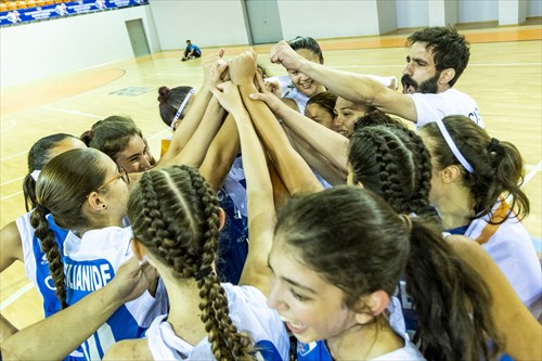 Cyprus team celebrating the win of the tournament