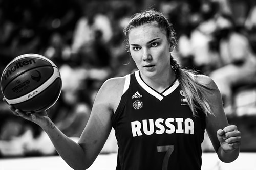 Russia overpowered Mali 90-66 as Maria Vadeeva landed a huge double-double