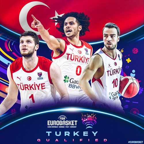 Turkey qualified for FIBA EuroBasket 2022 on February 20, 2021
