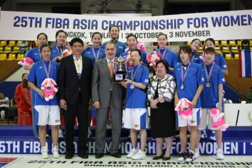 Silver medalists - Korea