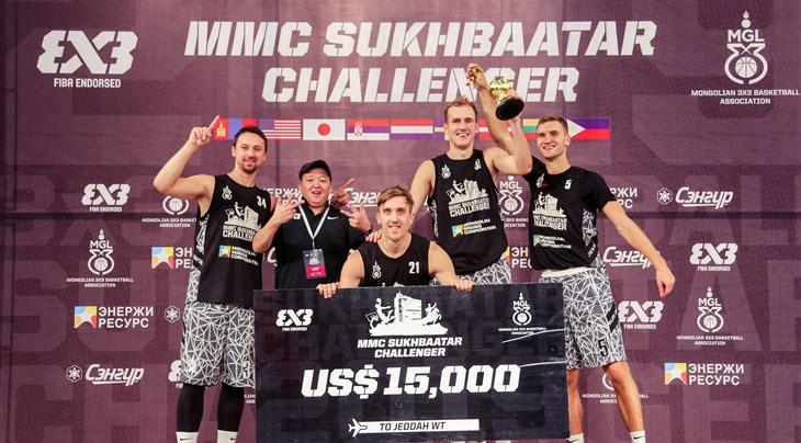 Red hot Sakiai Gulbele's winning run continues at Sukhbaatar 3x3 Challenger