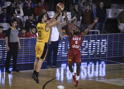 0 De' Andre Upchurch (GOE), 10 Juan Cangelosi (LIB)