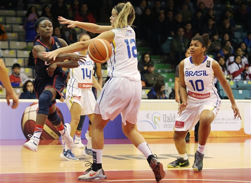 12 Geovana Lopes (BRA), 10 Raphaella Marciano Da Silva (BRA), 4 Dana Evans (USA)