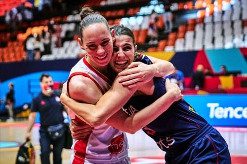 23 Ana Dabovic (SRB), 5 Jovana Pasic (MNE)