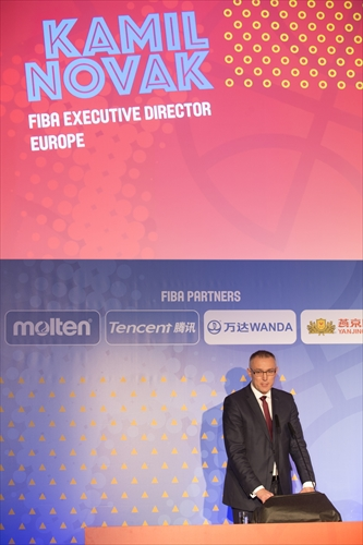 FIBA Executvie Director - Kamil Novak