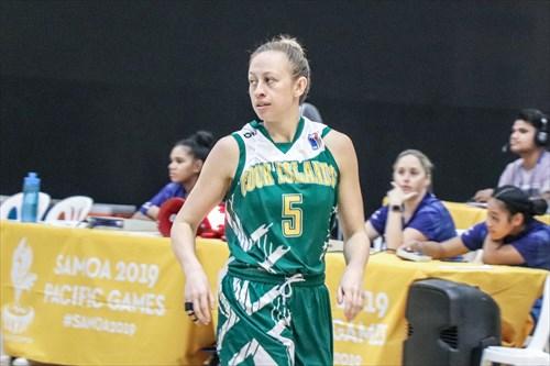 5 Jasmine Davis (COK)