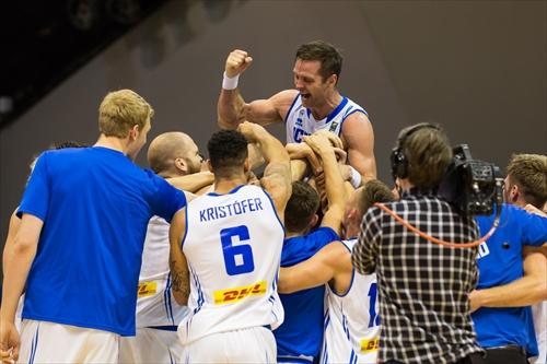 8 Hlynur Elias Baeringsson (ISL), Iceland v Belgium (Photo: Tomasz Kolodziejski)
