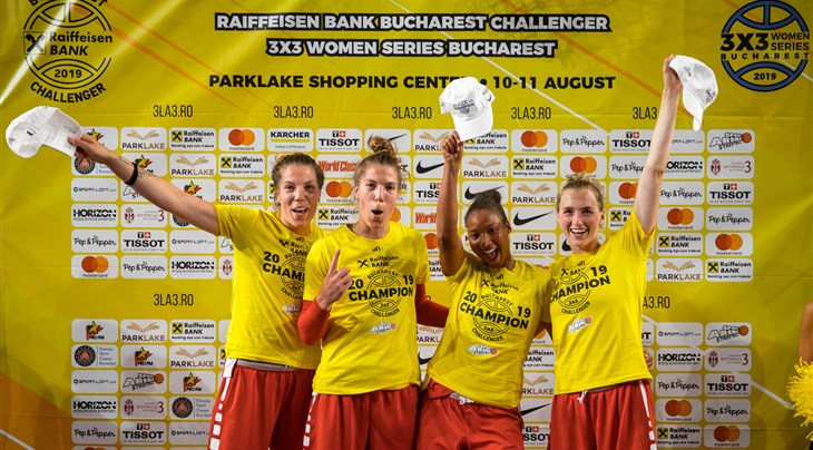 Red hot Canada continue stunning FIBA 3x3 Women's Series with victory at Bucharest Stop